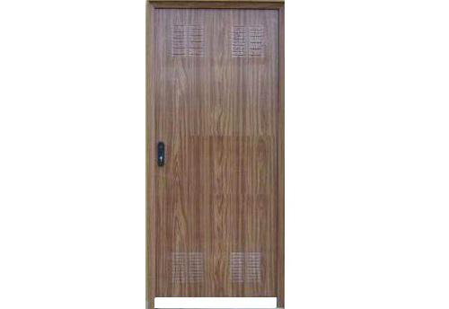 Puertas de chapa galvanizada elegant taquilla dos puertas for Puerta galvanizada